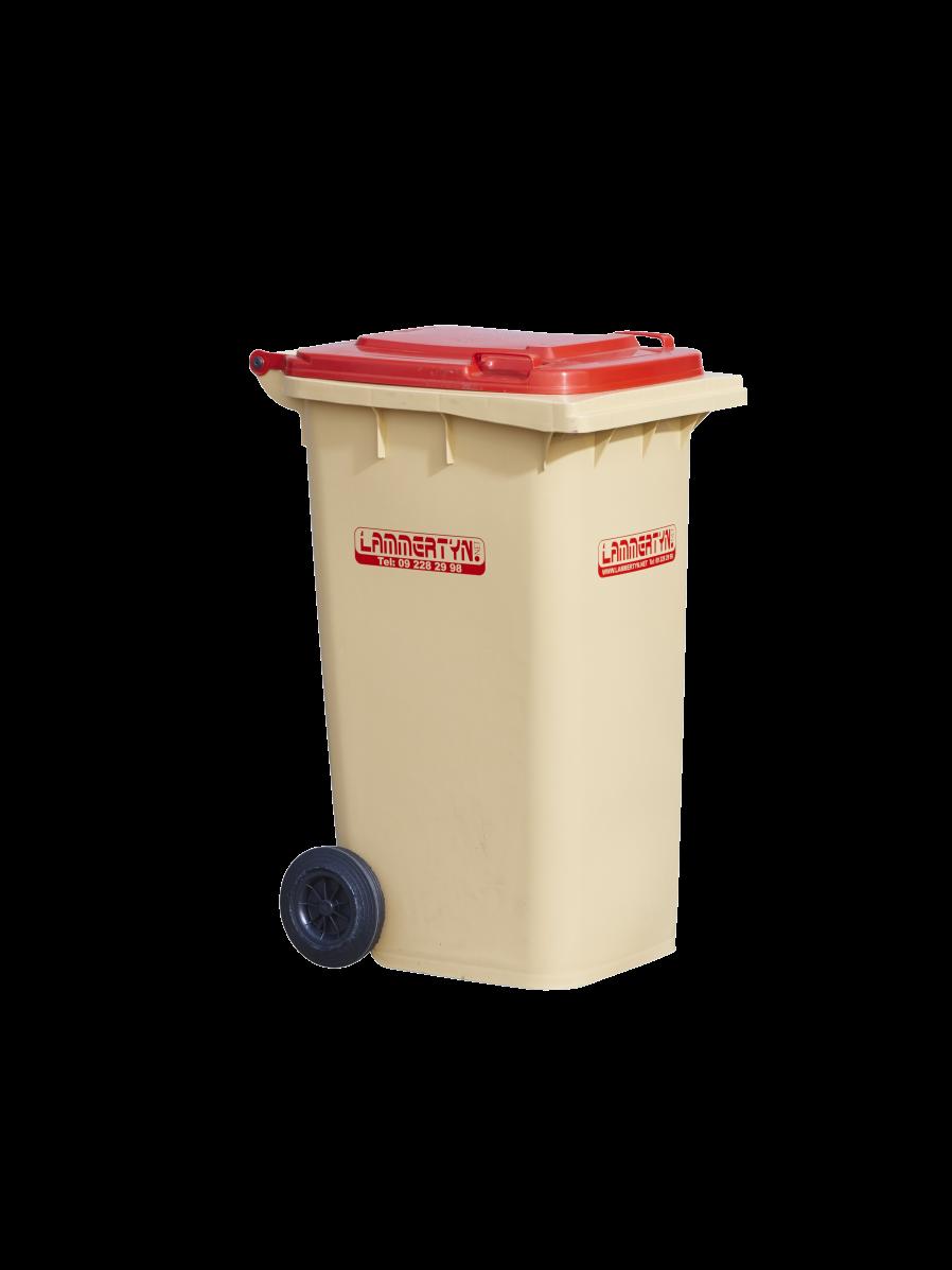 Lammertyn.net rolcontainer 240 liter